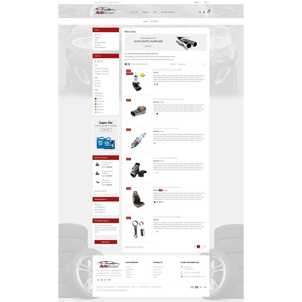 theme - Coches y Motos - Auto smart store - 4