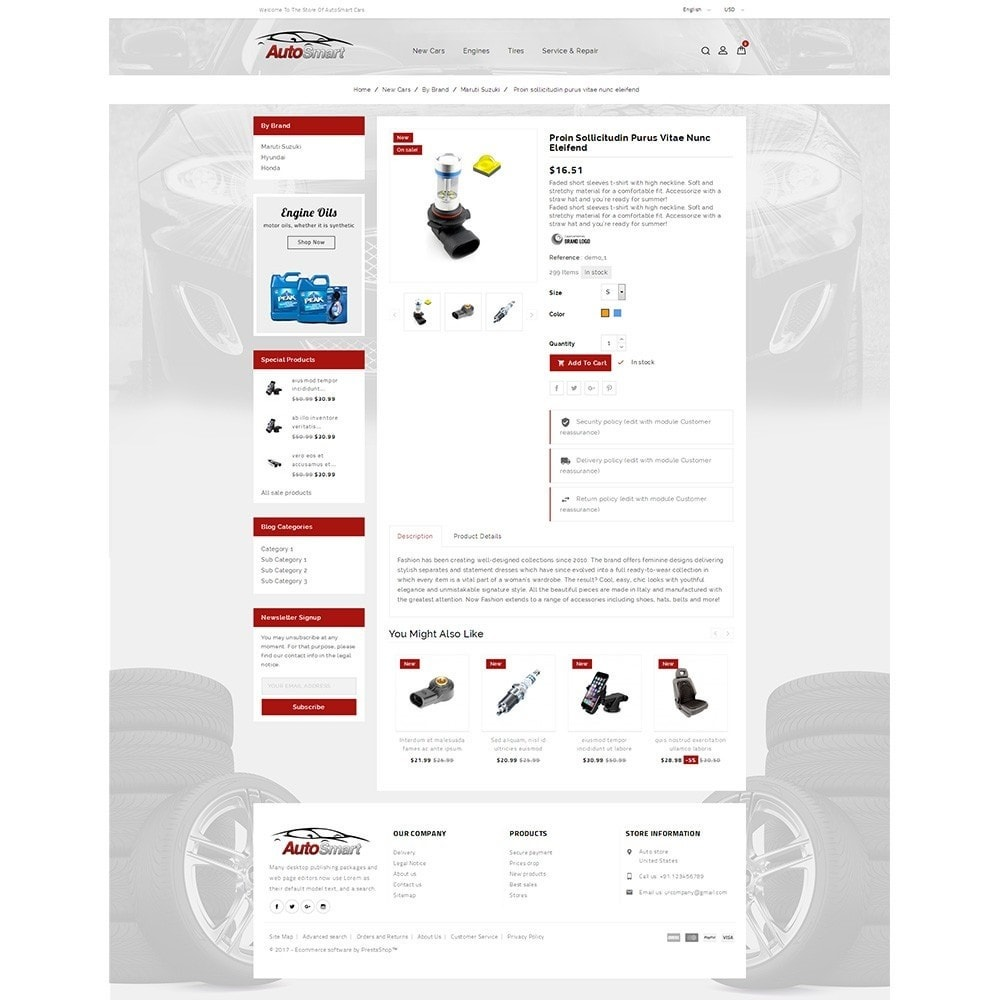 theme - Coches y Motos - Auto smart store - 5