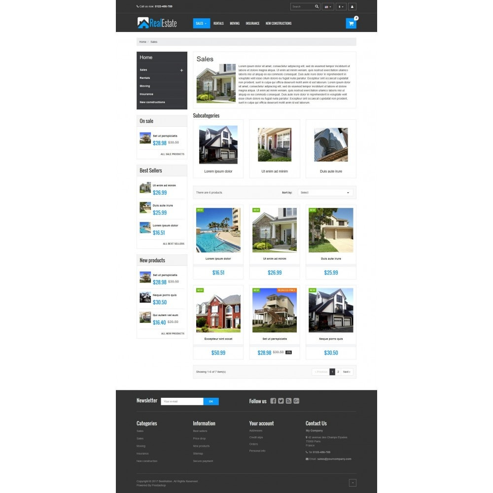 theme - Дом и сад - VP_RealEstate Store - 3