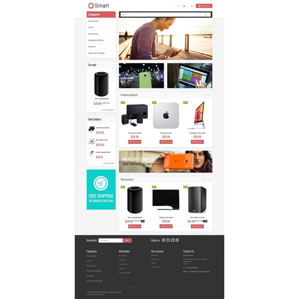 theme - Elektronika & High Tech - VP_Smart Store - 2