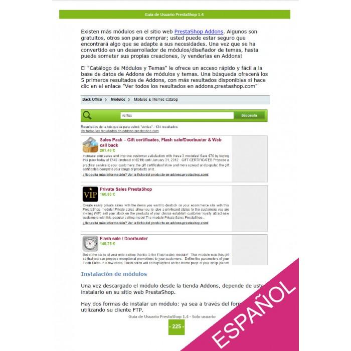 other - Guía del usuario - PrestaShop 1.4  Guía del usuario - 2