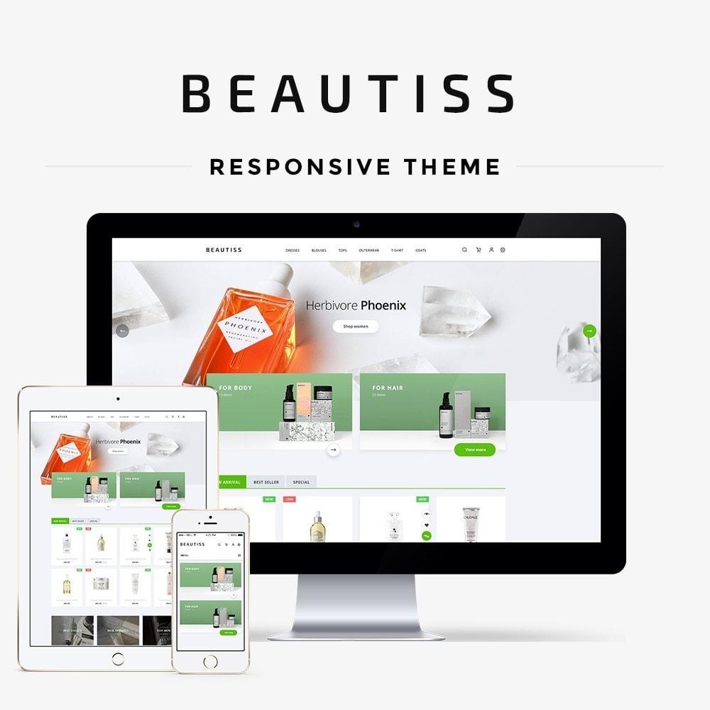 theme - Santé & Beauté - Beautiss Cosmetics - 1