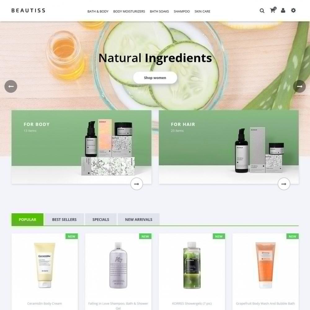 theme - Здоровье и красота - Beautiss Cosmetics - 2