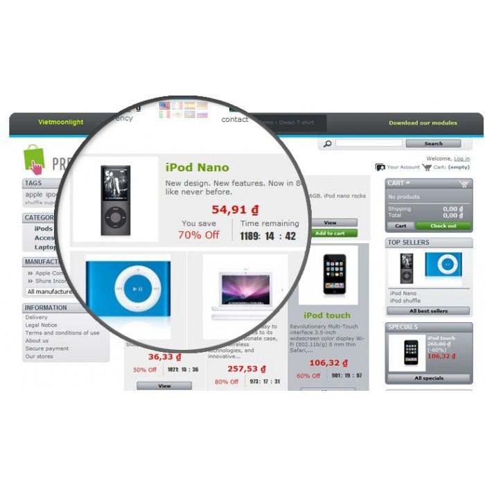 module - Uitverkoop & Besloten verkoop - SOO Countdown Discounts - 4