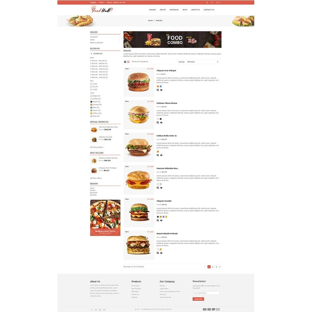 theme - Alimentation & Restauration - Food hub - 4