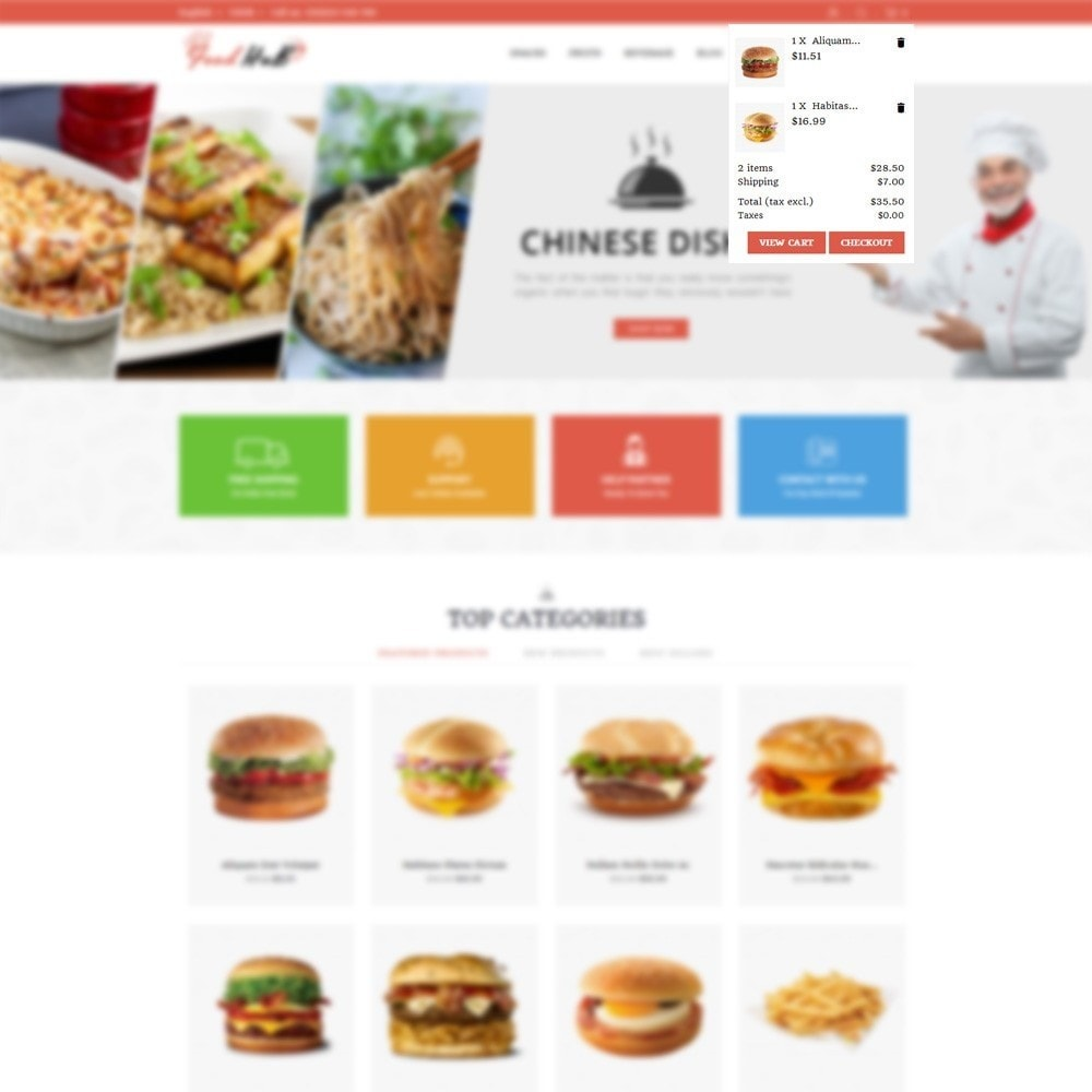 theme - Alimentation & Restauration - Food hub - 7