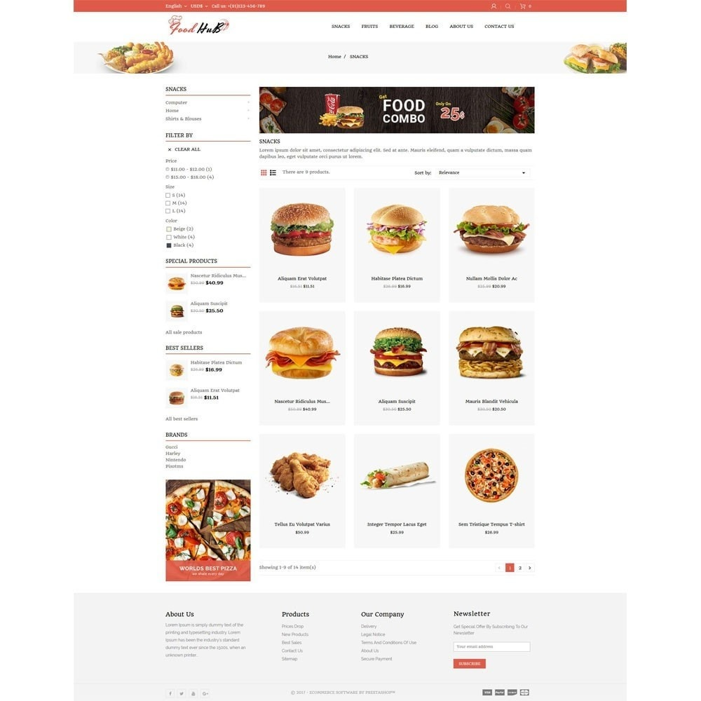 theme - Alimentation & Restauration - Food hub - 3