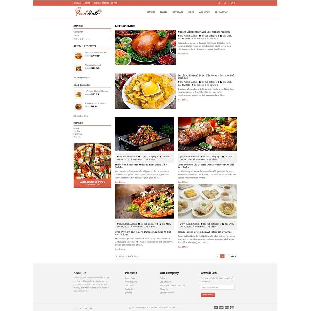theme - Alimentation & Restauration - Food hub - 8