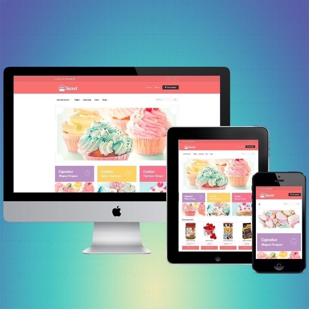theme - Eten & Restaurant - VP_Sweet Store - 1