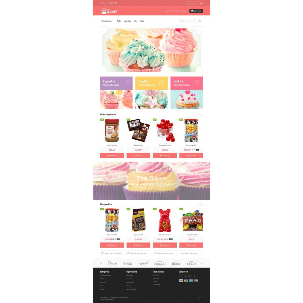 theme - Lebensmittel & Restaurants - VP_Sweet Store - 2