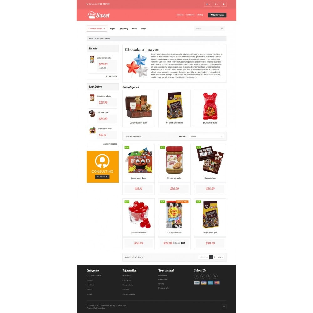 theme - Lebensmittel & Restaurants - VP_Sweet Store - 3