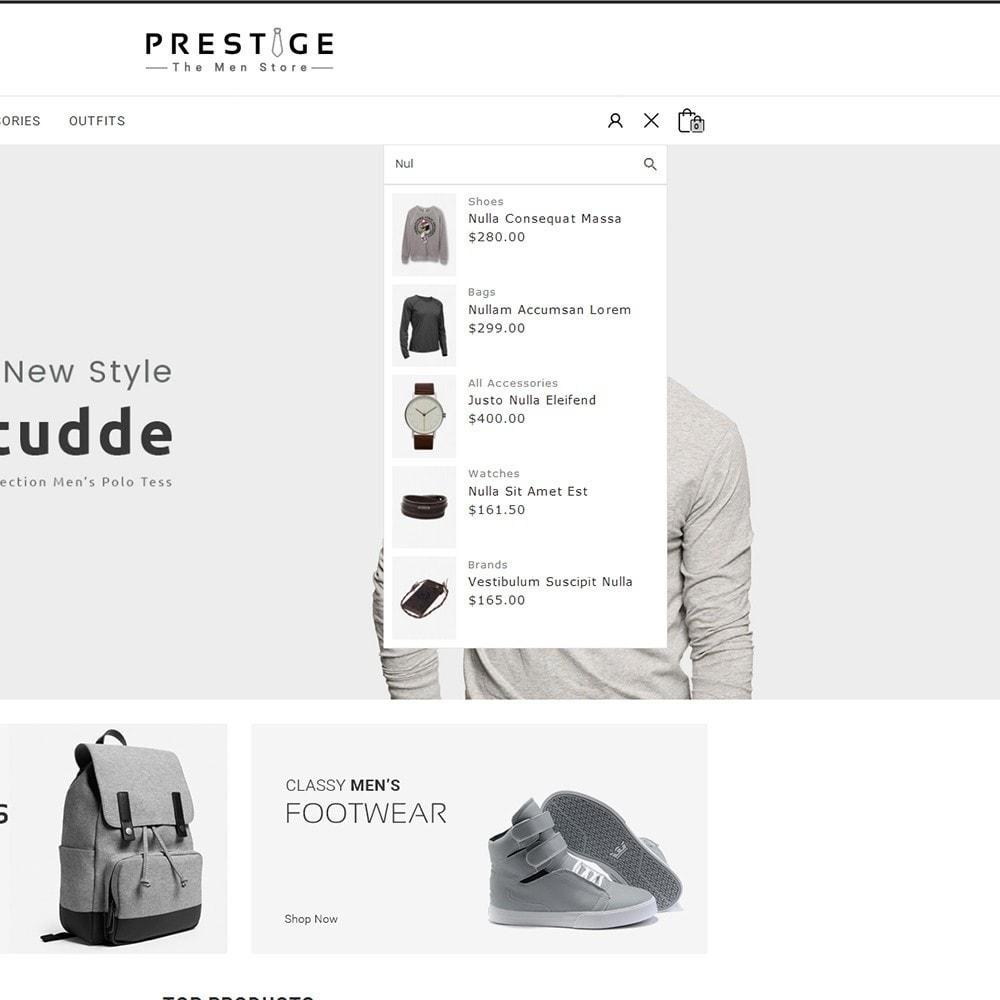theme - Мода и обувь - Prestige Fashion Store - 6