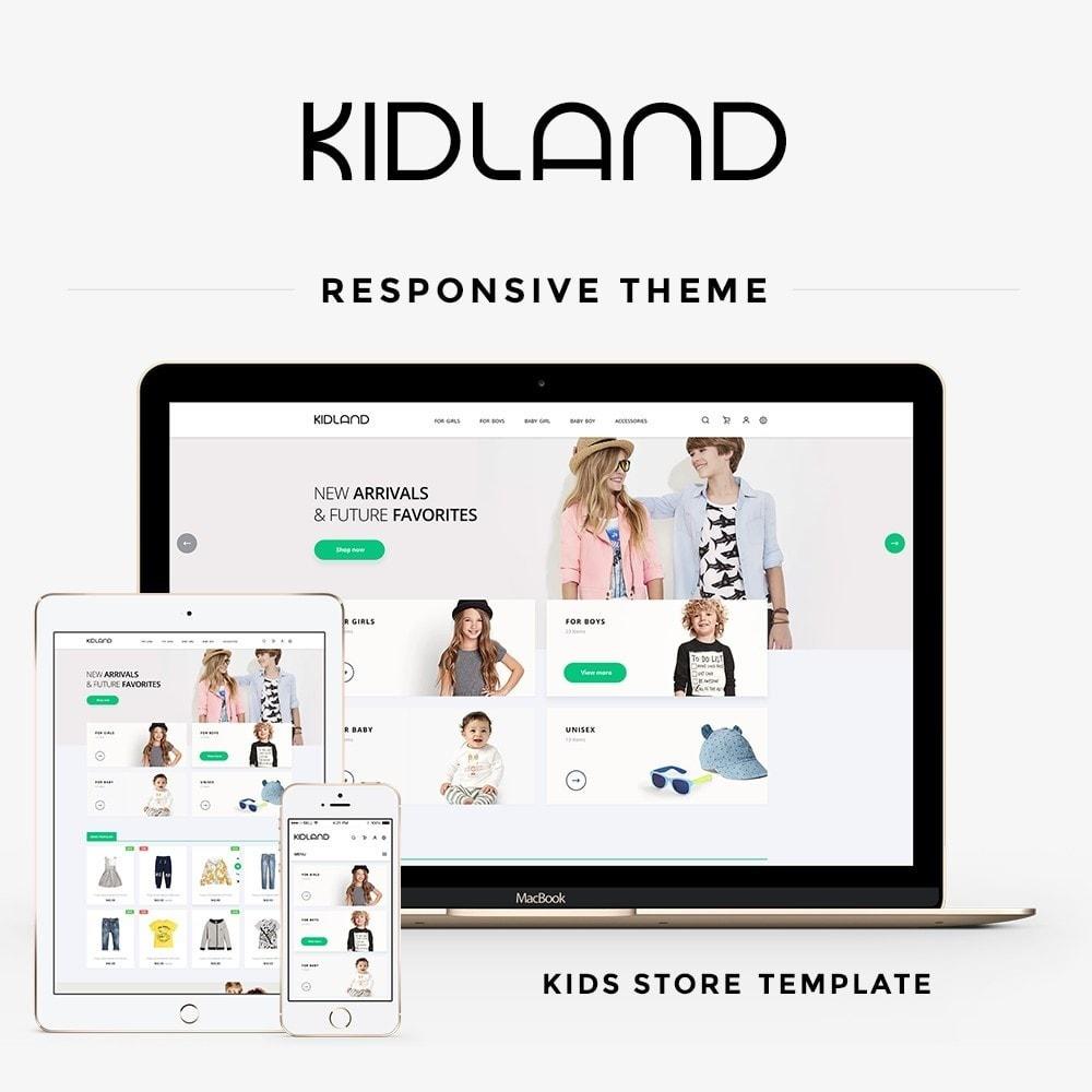 theme - Crianças & Brinquedos - Kidland - 1