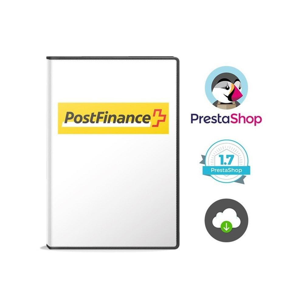 module - Paiement par Carte ou Wallet - PostFinance - 2