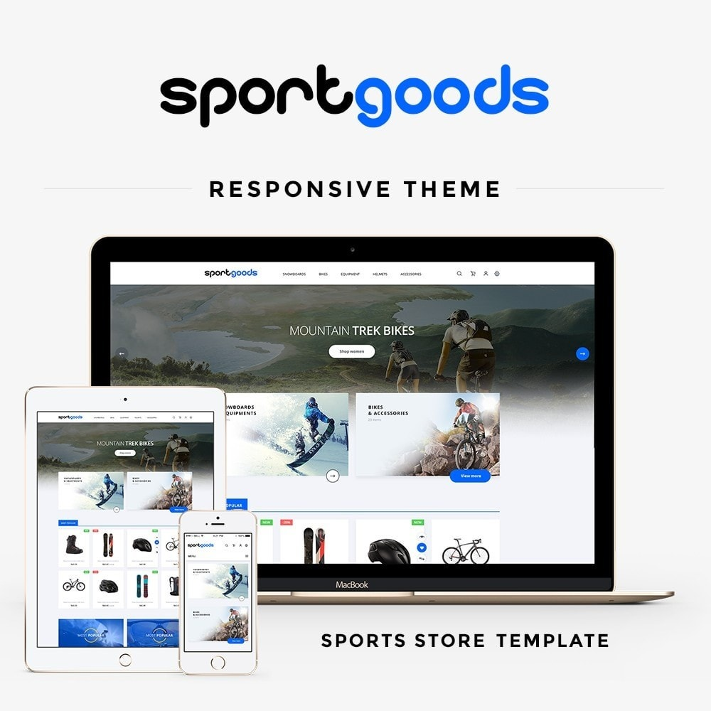 theme - Sports, Activities & Travel - Sportgoods - 1