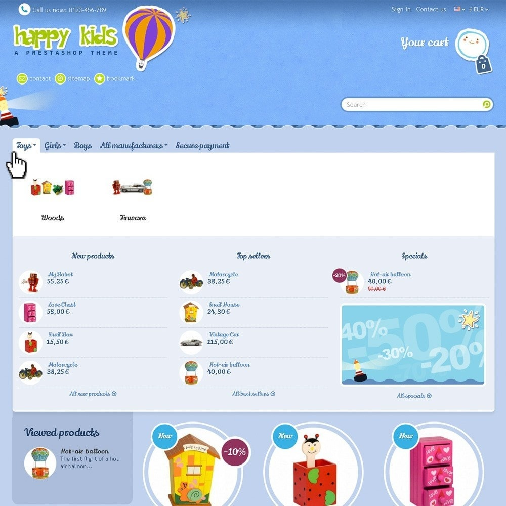 theme - Kinderen & Speelgoed - Happy Kids - 3