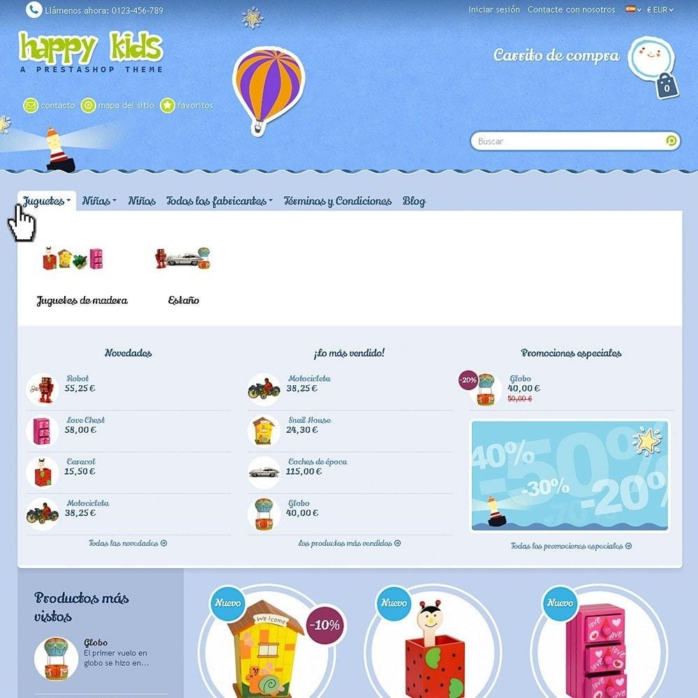 theme - Niños y Juguetes - Happy Kids - 4