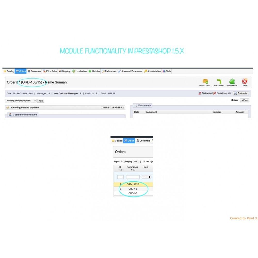 module - Gestion des Commandes - Génération avancé du numéro d´ordre, sa modification - 7