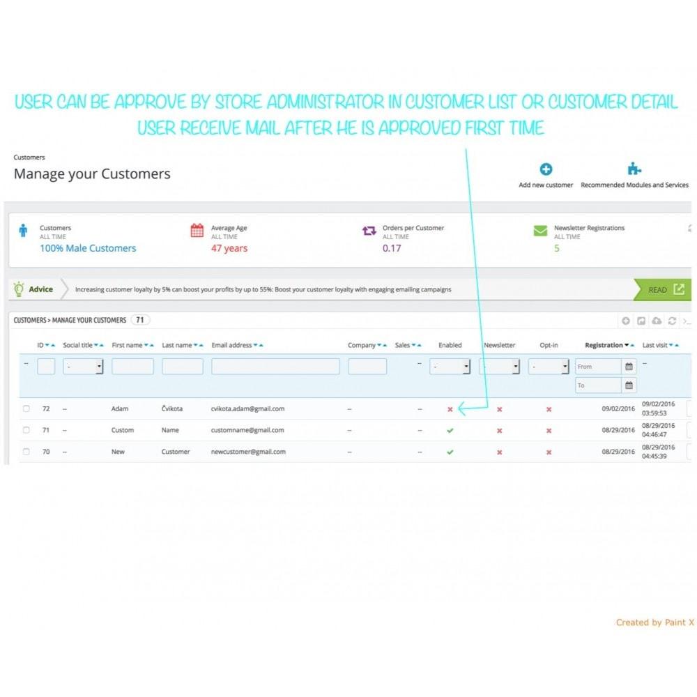 module - B2B - Validation B2B du membre enregistré et cacher des prix - 3