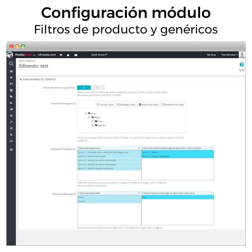module - Gestión de Pedidos - Ocultar precio y desactivar la compra de productos - 4