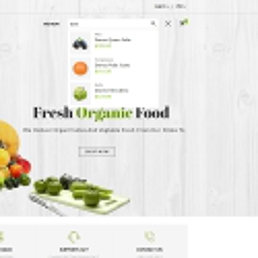 theme - Alimentation & Restauration - Grocery Store - 6