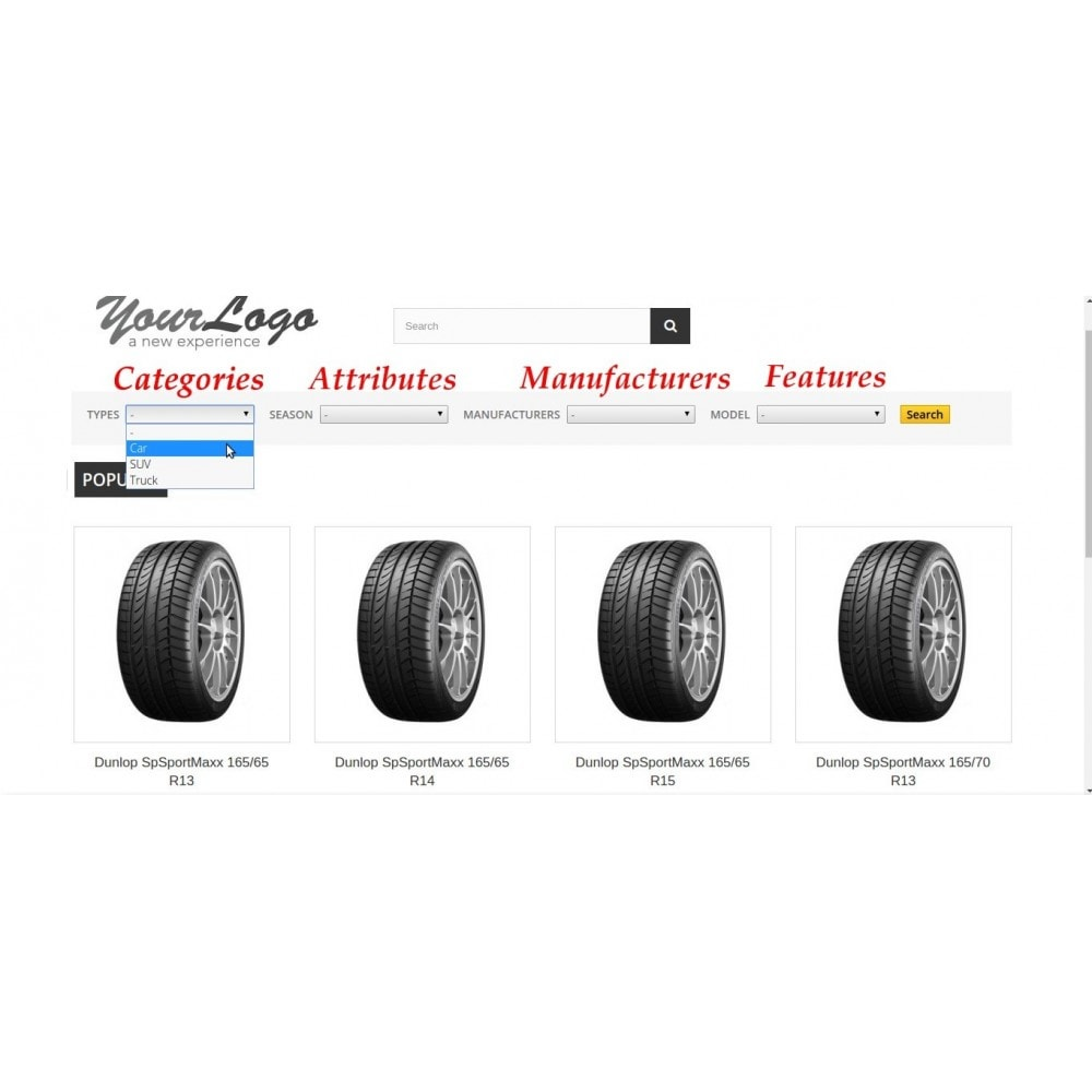 module - Ricerche & Filtri - FlexSearch - CascadeMIX - 2