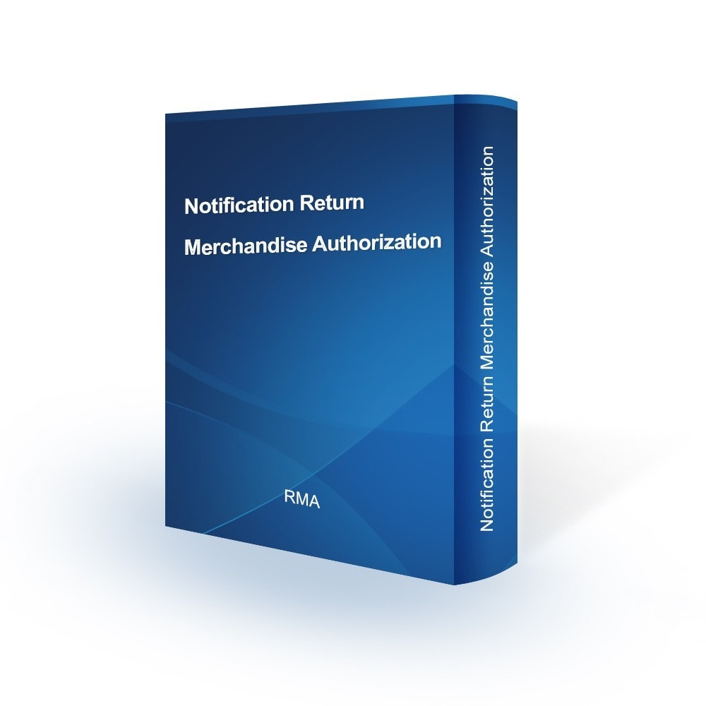 module - E-mails & Notifications - Notification Return Merchandise Authorization - 1
