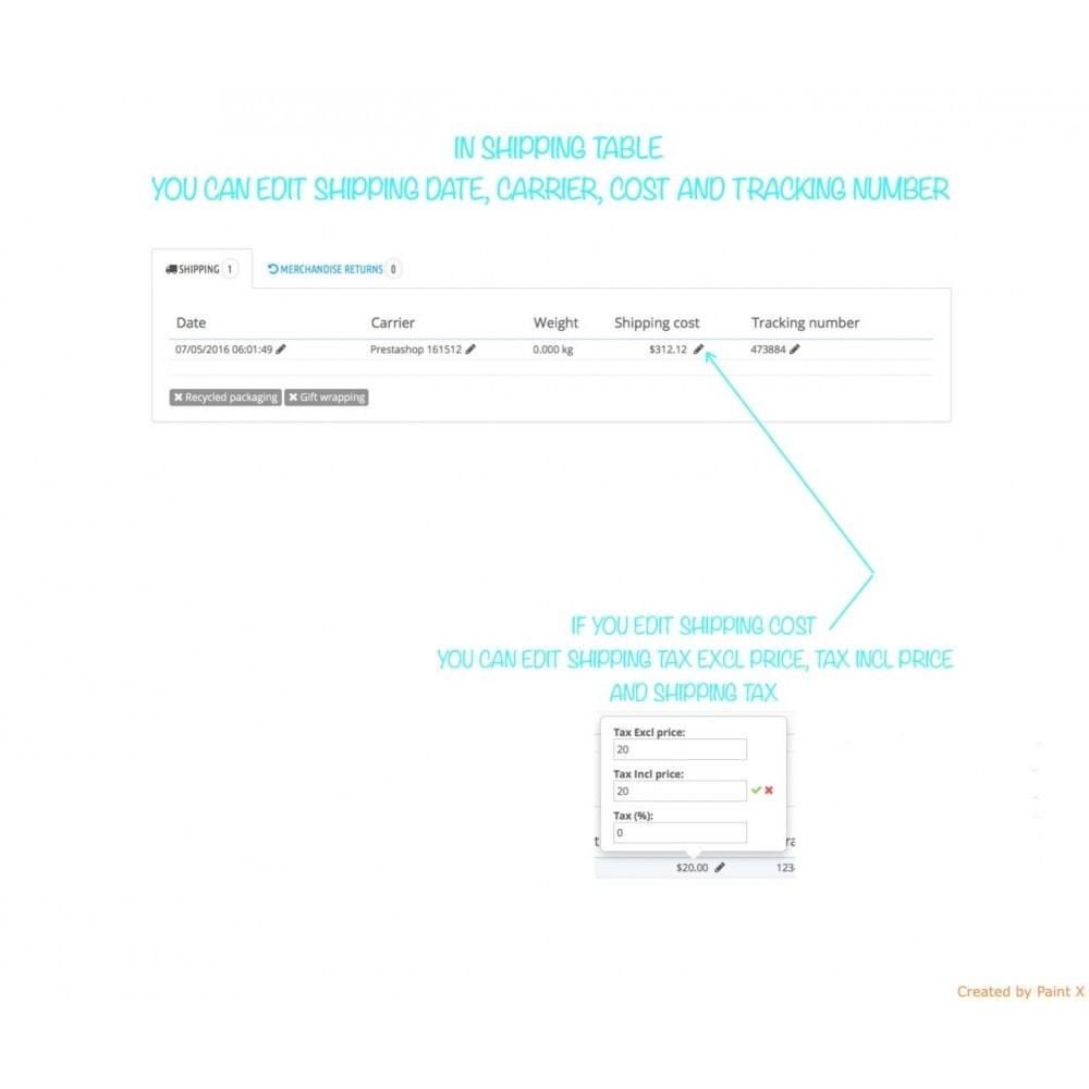 module - Gestion des Commandes - Management des commandes, édition des commandes existantes - 4
