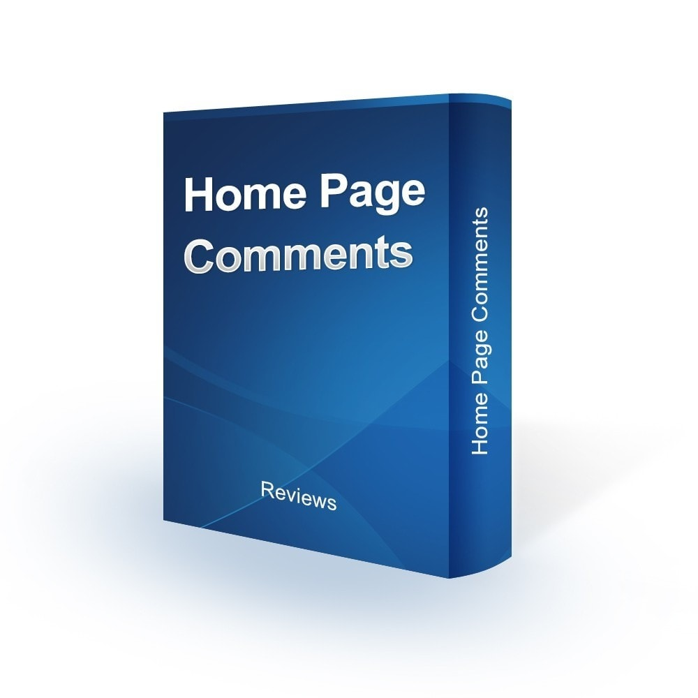 module - Kundenbewertungen - Home Page Comments - 1