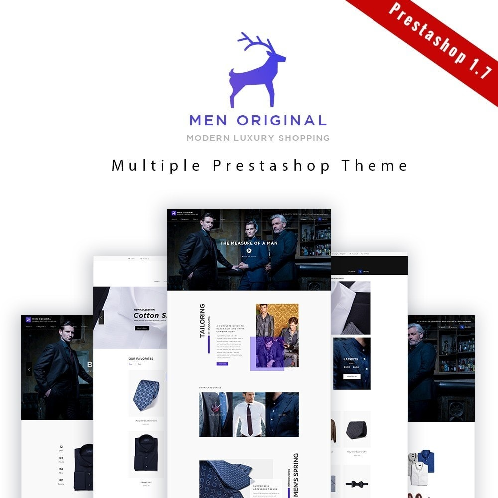 theme - Moda & Calzature - Leo Men Original - 1