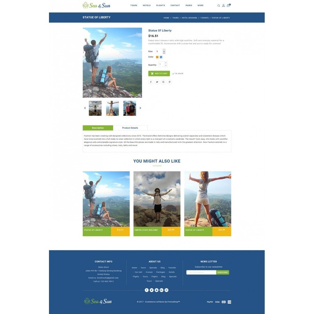 theme - Sports, Activities & Travel - Sea & Sun - Travel Store - 5