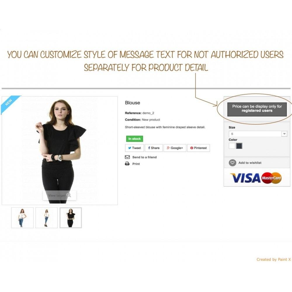 module - Gestión de clientes - B2B Ocultar precios para clientes no autorizados - 3