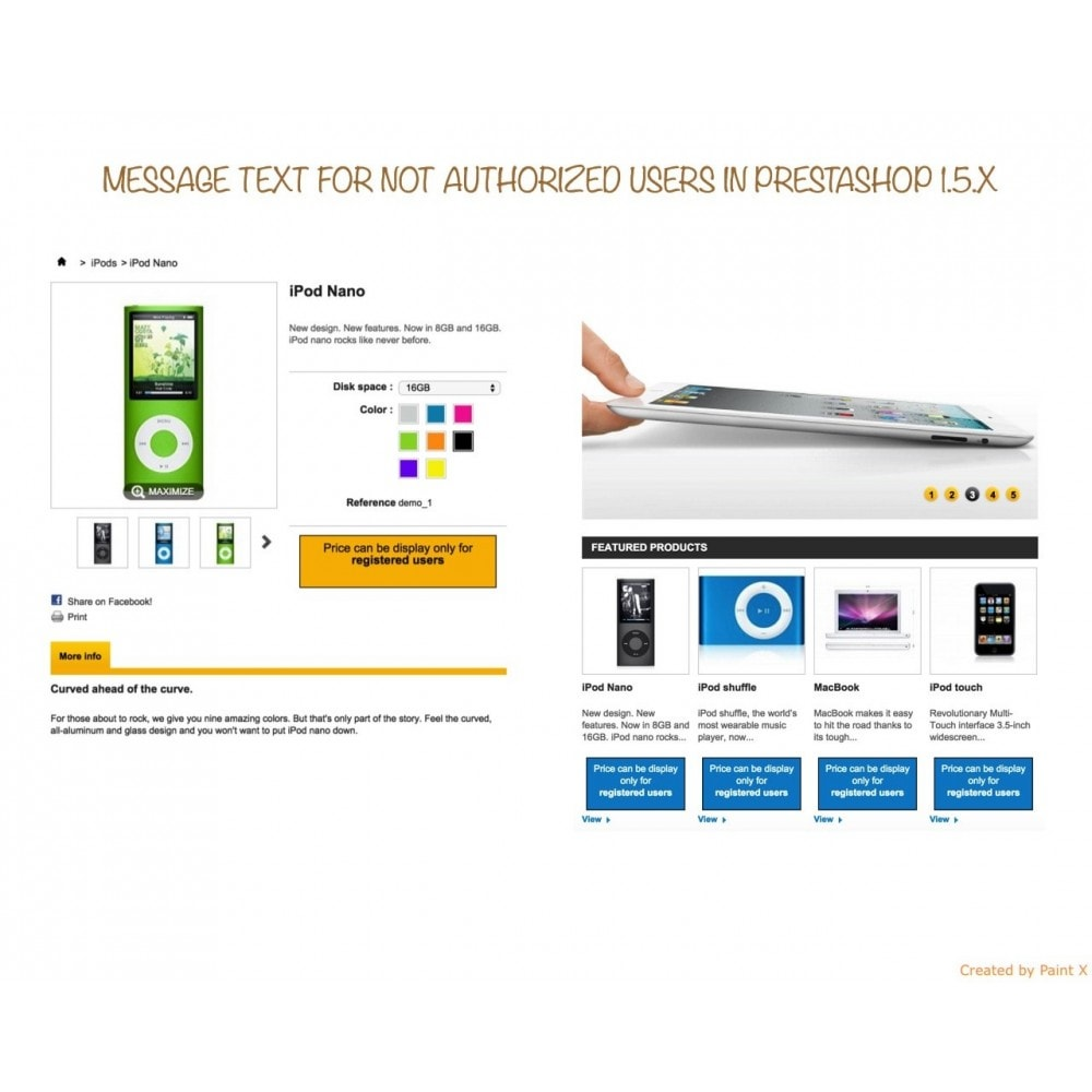 module - Gestión de clientes - B2B Ocultar precios para clientes no autorizados - 7