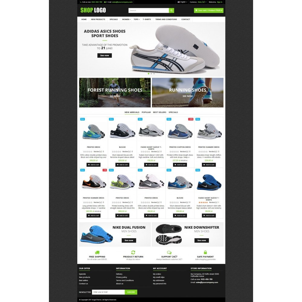 theme - Мода и обувь - ATS01 Sport and Shoes Store - 2