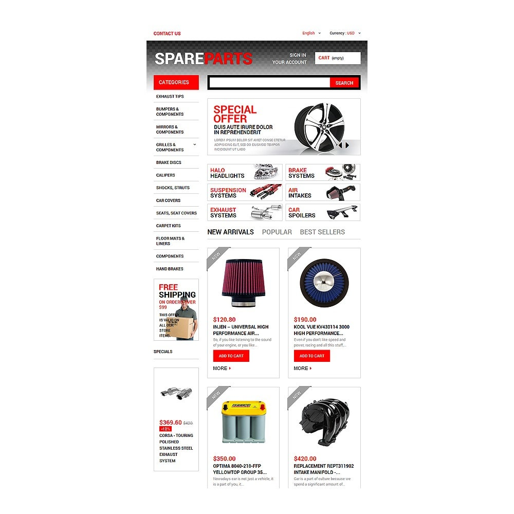 theme - Coches y Motos - Motor Spares - 7