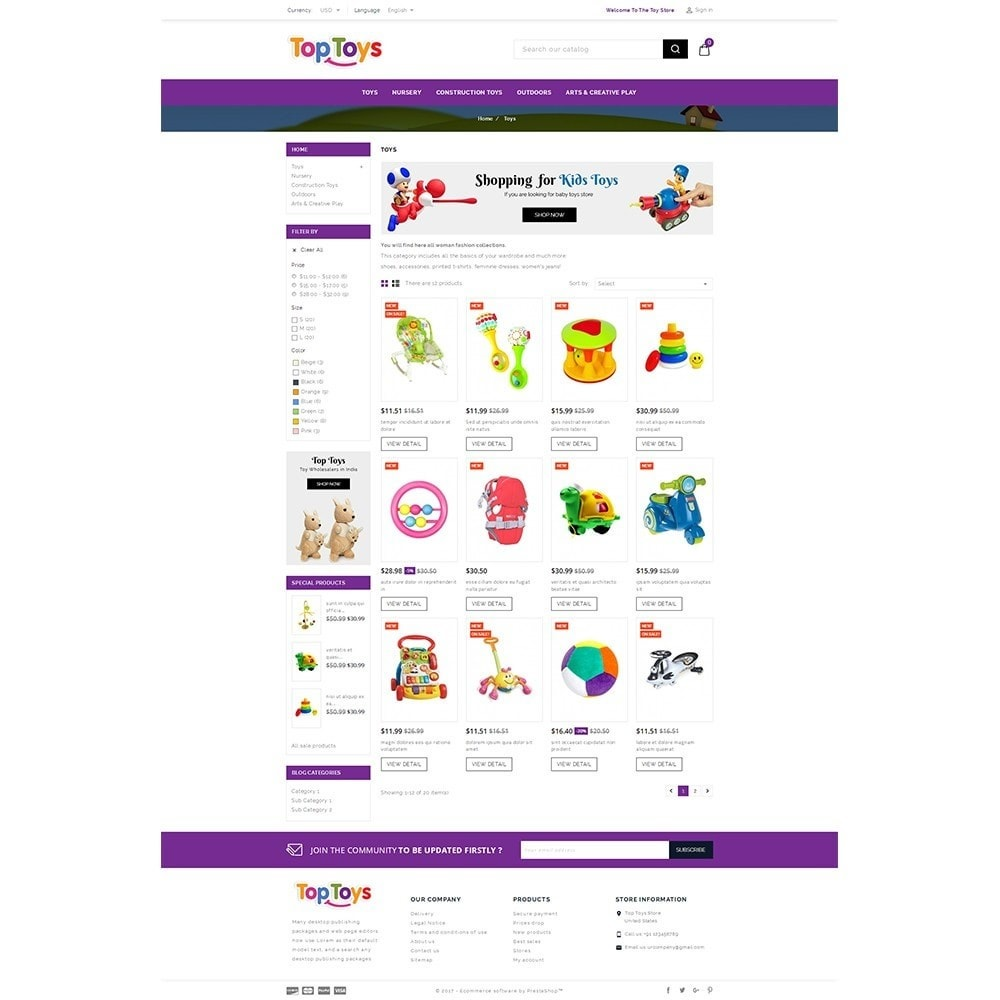 theme - Kids & Toys - Top Toys Store - 3