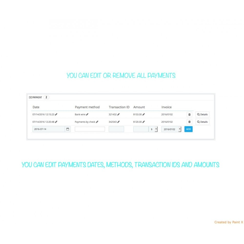 module - Gestión de Pedidos - Gestión avanzada de pedidos y números de documentos - 6