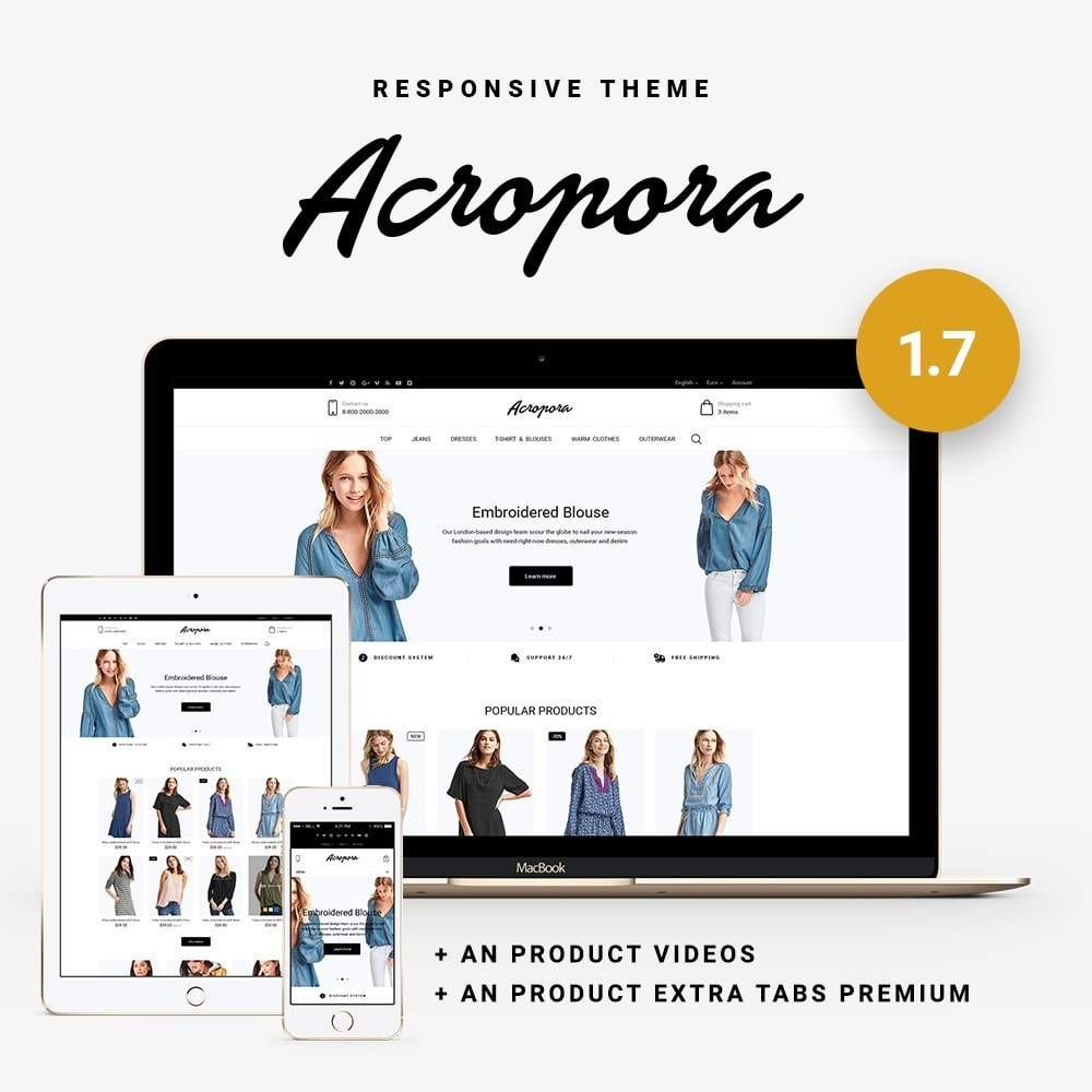 theme - Mode & Schoenen - Acropora Fashion Store - 1