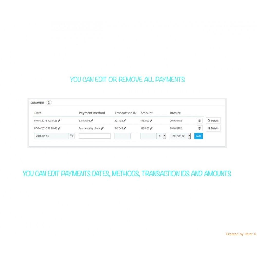 module - Gestión de Pedidos - Gestión de pedidos – modificación de pedidos existentes - 5