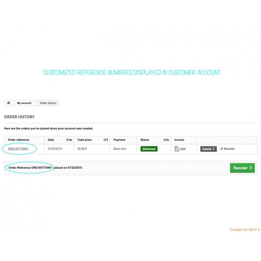 module - Contabilidad y Facturas - Números propios de pedido, factura, albanes y créditos - 7
