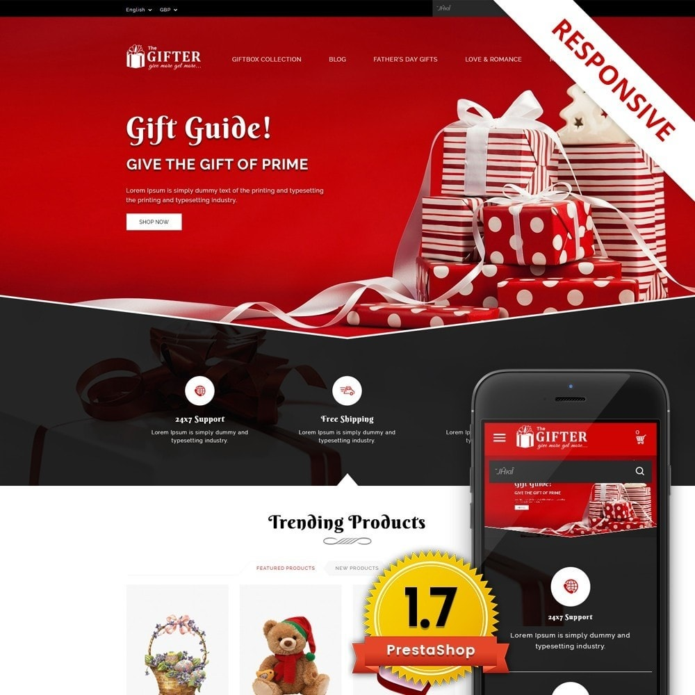 theme - Regali, Fiori & Feste - Gifter - The Gift Store - 1