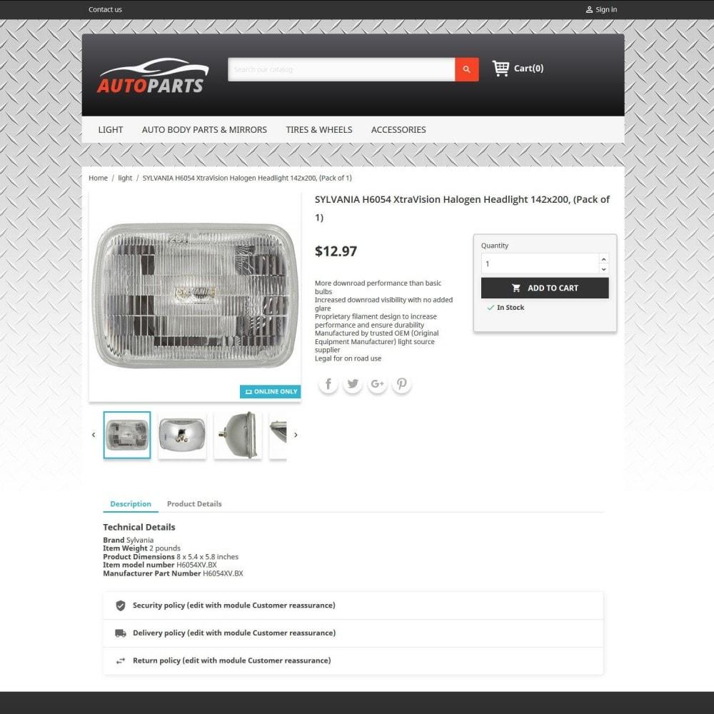 theme - Automotive & Cars - Auto Parts 2.0 - 4