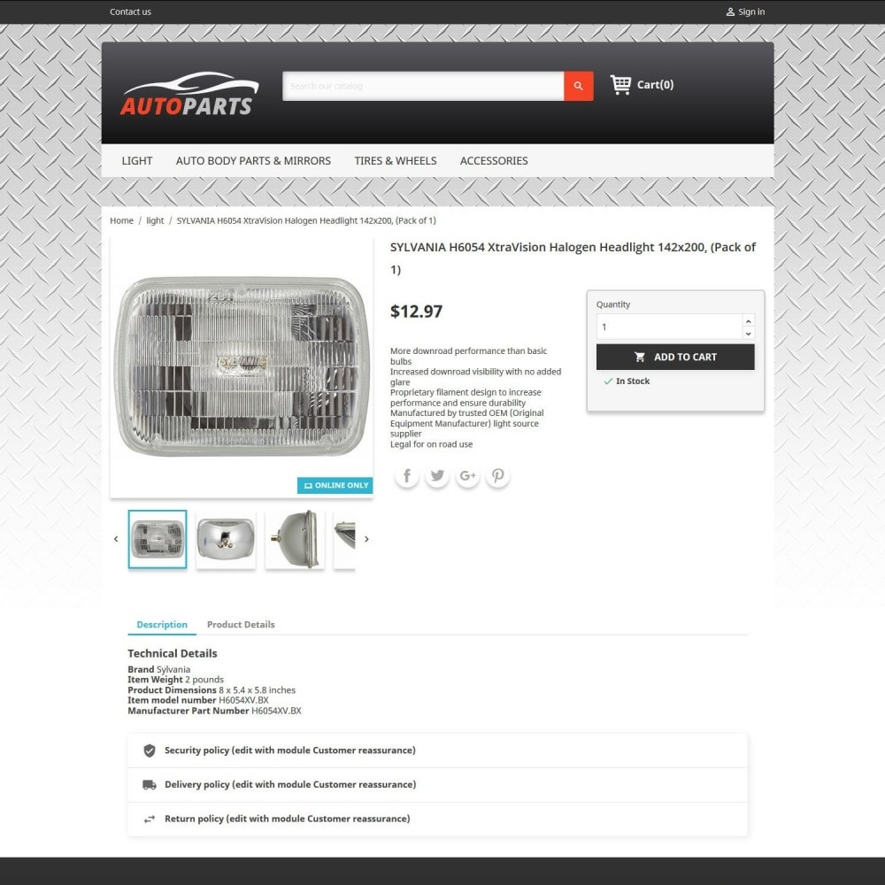 theme - Auto & Moto - Auto Parts 2.0 - 4