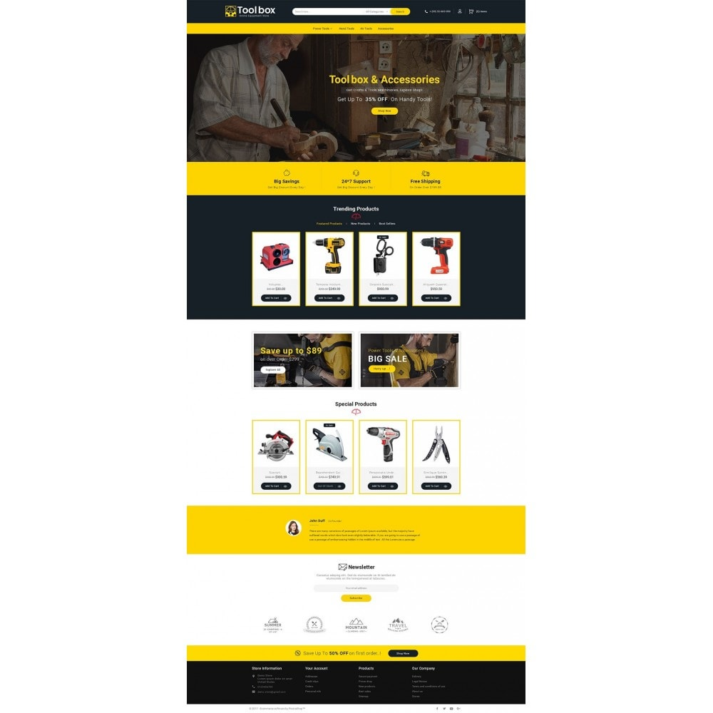 theme - Automotive & Cars - Tools Store - 2