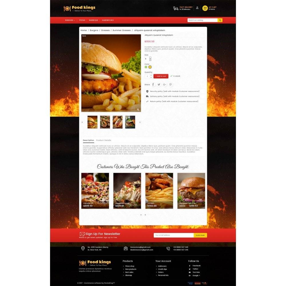 theme - Продовольствие и рестораны - Food Kings - 5