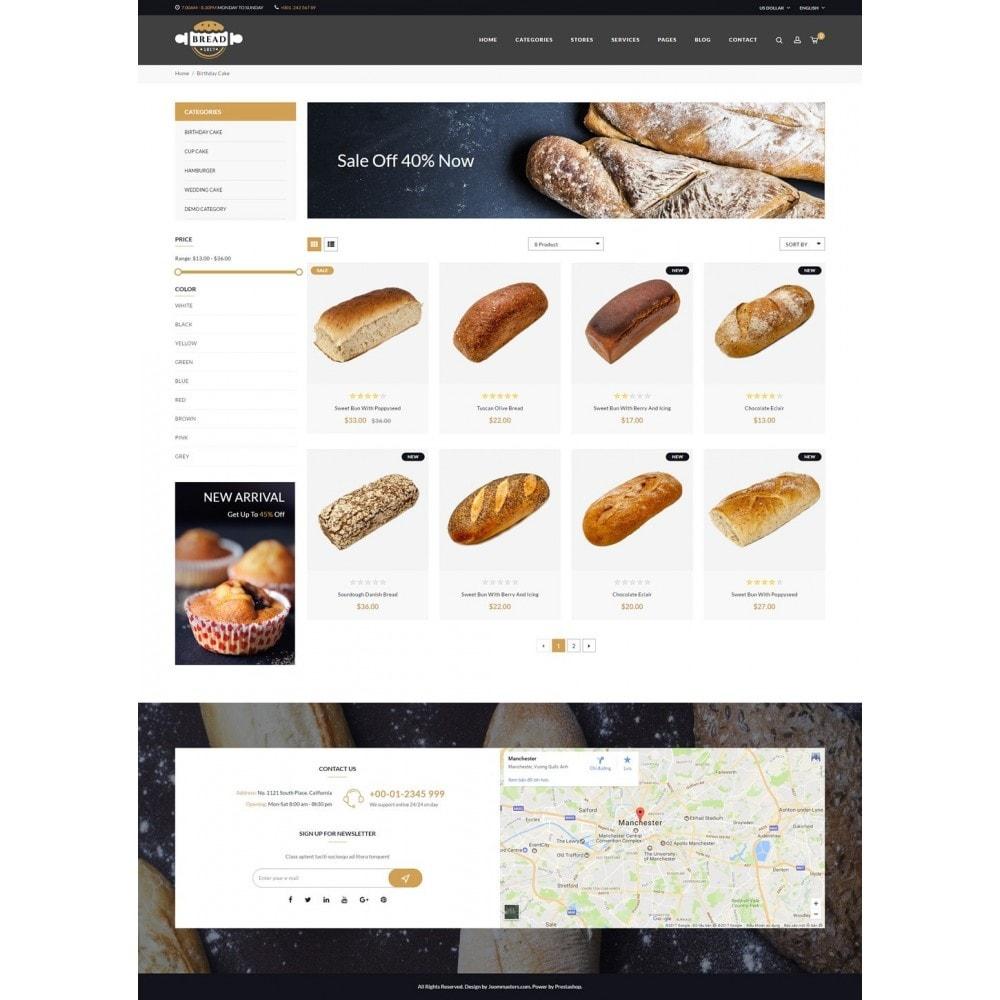 theme - Food & Restaurant - JMS Bread 1.7 - 9