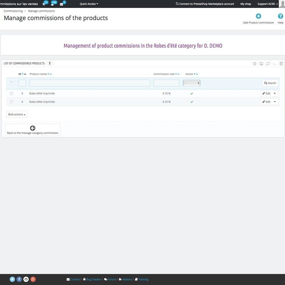 module - Бухгалтерии и выставления счетов - Sales commissions - 10