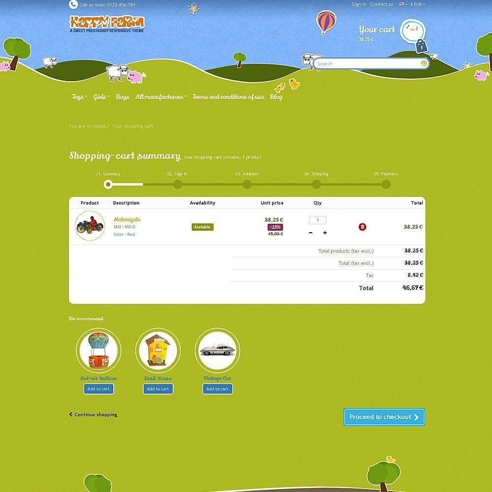theme - Zabawki & Artykuły dziecięce - Happy Farm - 9
