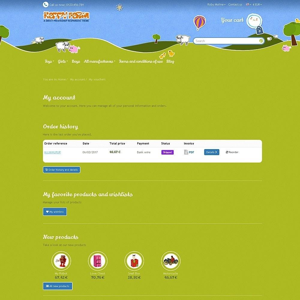 theme - Zabawki & Artykuły dziecięce - Happy Farm - 10