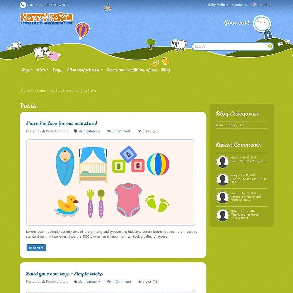 theme - Zabawki & Artykuły dziecięce - Happy Farm - 12